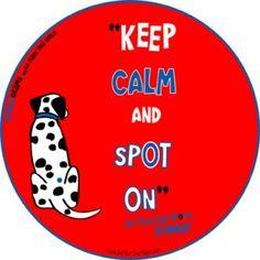keep calm & SPoT oN!