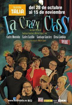 La Crazy Class de L'Om Imprebis en el Talía - http://www.valenciablog.com/la-crazy-class-de-lom-imprebis-en-el-talia/