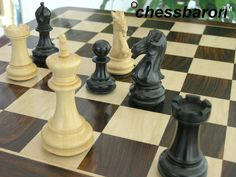 Luxury Rosewood Chess Board 2 Inch Squares