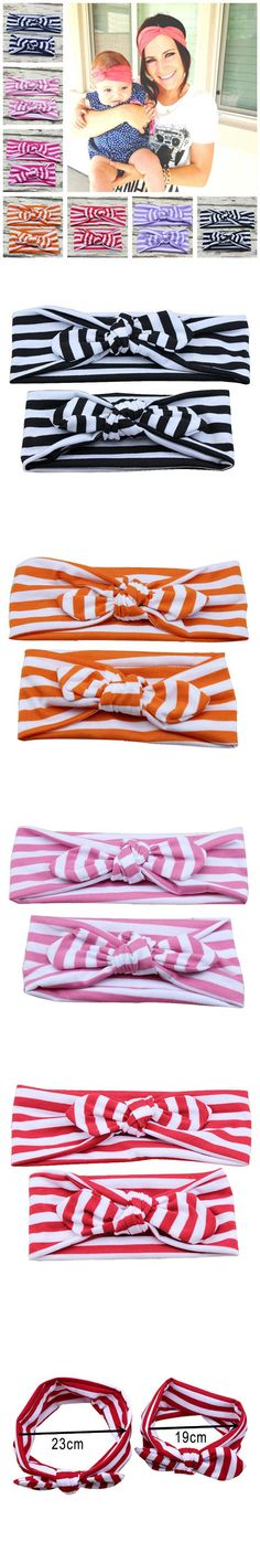 Cotton Headbands Hair Accessories Band For Toddlers Baby Mom Enfeites De Cabelo Infantil #2458