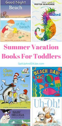 Summer Vacation Books For Toddlers | Spit Up And Sit Ups    summer vacation books for toddlers, summer fun for toddlers, reading for toddlers, summer board books, summer activities for toddlers, vacation activities for toddlers, summer reading for toddlers, beach reading for toddlers, summer themed books for kids  via @ashleysuasu