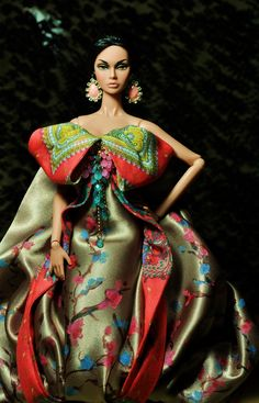 https://flic.kr/p/aabeyK | Ode To The Wind | Commission gown of hand painted…