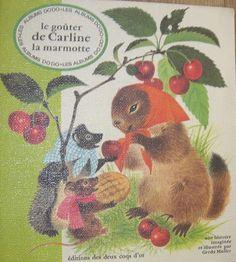 Le goûter de Carline la marmotte