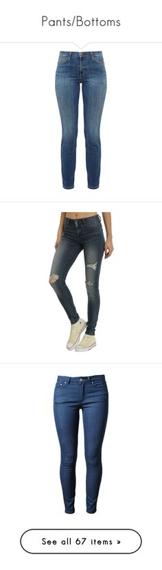 """""""Pants/Bottoms"""" by emmcg915 ❤ liked on Polyvore featuring jeans, pants, bottoms, calças, blue, blue jeans, high-waisted skinny jeans, high rise skinny jeans, high waisted blue jeans and zipper skinny jeans"""