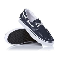 VANS ZAPATO DEL BARCO VN OXC3NWD Navy White CANVAS SNEAKERS BOAT SHOES MEN   sneakers   80af20ae0