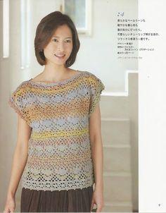 Blusita crochet tulipanes una pieza revista lks 80115 - nany.crochet - Álbumes web de Picasa