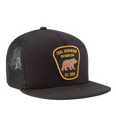 Coal Bureau Trucker Mesh Cap