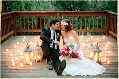 Romantic Rustic Wedding Ideas // see more on lemagnifiqueblog.com