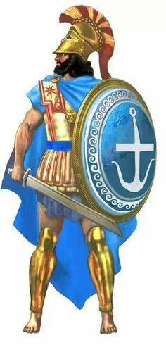 - Hoplita de la marina . Siglo V a.C.