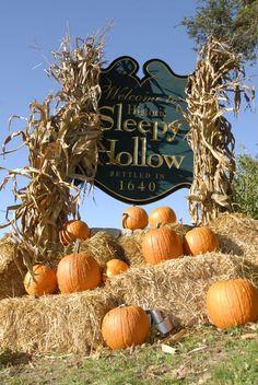 I want to take a trip to Sleepy Hollow, NY around Halloween!