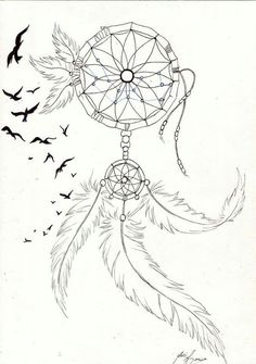 Trading Stocks for a Living: Getting Started and Best Practices Many people dream of making money on the stock market, […] Dream Catcher Sketch, Dream Catcher Tattoo Design, Dream Catcher Art, Atrapasueños Tattoo, Body Art Tattoos, Pretty Tattoos, Cool Tattoos, Tattoo Sketches, Tattoo Drawings