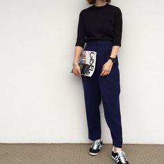 Tops/bangles #bonbellespoir  Pants #enfold  Shoes #adidas #adidasoriginals  Watch #thefifthwatches  Wallet #commedesgarcons  iPhone case #refilpapercase  #gisele #adidasgazelle #gazelle #tfw #allblack #ootd #outfit #wiwt  #wiw #look #lookoftheday #コーデ  #コーディネート #エンフォルド #アディダス #ジゼル #ギャルソン #コムデギャルソン