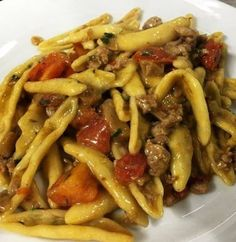 Healthy Pasta Recipes, Healthy Pastas, Kitchen Recipes, Cooking Recipes, Italian Pasta, Sausage Recipes, Stuffed Hot Peppers, Food And Drink, Pizza