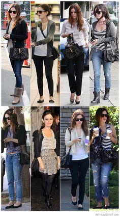 love Rachel Bilson's style and her 3.1 Phillip Lim Edie bag