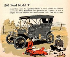 1909 Ford Model T Touring Car by aldenjewell, via Flickr