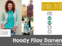 """EBook """"Filou Ladies"""" the all-around hoodie"""