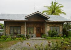 Bamboo House Design In The Philippines Innovative Construction House Roof Design, Bamboo House Design, Small House Interior Design, House Extension Design, Simple House Design, Bahay Kubo Design, Filipino House, Philippines House Design, Philippine Houses