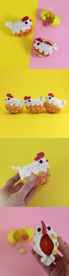 Wee Hen Surprise crochet pattern