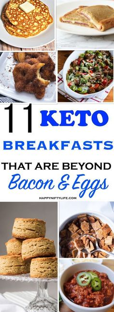 I'm so glad I found these Low Carb Keto Breakfast Recipes! Now I have delicious breakfast ideas to keep me in ketosis. by candy I'm so glad I found these Low Carb Keto Breakfast Recipes! Now I have delicious breakfast ideas to keep me in ketosis. by candy Low Carb Desserts, Low Carb Recipes, Diet Recipes, Atkins Recipes, Recipies, Quick Keto Breakfast, Bacon Breakfast, Ketogenic Breakfast, Peanut Butter