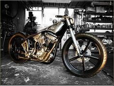 Harley-Davidson | Bobber Inspiration - Bobbers and Custom Motorcycles | the-ghost-darkness October 2014