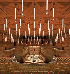 Hamer Hall | Auditorium. ArchitectureAU Photography John Gollings