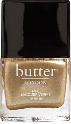 Metallic Gold Nail Polish – The Full Monty : butter LONDON