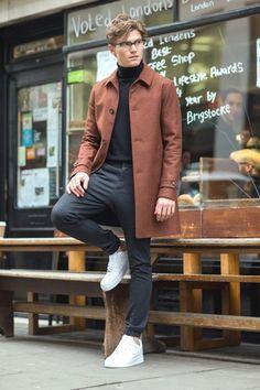 Copia el look Oliver con zapatillas icónicas de Nike en los Zalando Street Styles para hombre primavera 2015