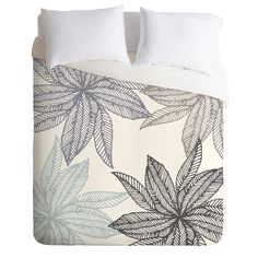 Camilla Foss Flowers Fantasy II Duvet Cover   DENY Designs Home Accessories