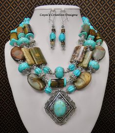 Conjunto de vaquera occidental / howlita por CayasCreativeDesigns