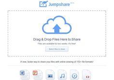 Jumpshare, la forma más rápida y cómoda de compartir pequeños archivos de hasta 100 Mb