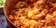 "Easy Cajun Jambalaya - Creole Recipes For The Zestiest Mardi Gras Ever"" *A* Mardi Gras Food, Creole Recipes, Shrimp Recipes, Donut Recipes, Noodle Recipes, Guam Recipes, Food Blogs, Snacks, Cajun Recipes"