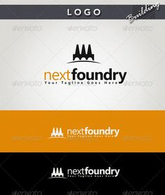 Next Foundry  Logo Design Template Vector #logotype Download it here:  http://graphicriver.net/item/next-foundry-logo/1586776?s_rank=926?ref=nexion