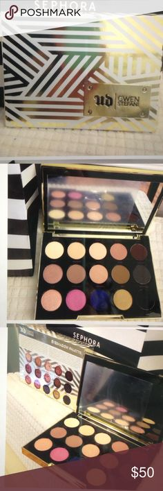 UD LTD EDITION GWEN STEFANI EYE PALETTE-NEW Gwen's go to palette. PRICE IS FIRM unless bundled as this is limited edition to be retired.  NEW. NEVER USED. Urban Decay Makeup Eyeshadow