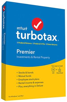 TurboTax Premier + State is recommended if you sold stocks, bonds, mutual funds or options for an employee stock purchase plan, own rental property or you are the beneficiary of an estate or trust (received a K 1 form) With Premier, retirement tax help and the IRA tool show you how to get more money back this year and when you retire. Keep more of your investment and rental income. Get your taxes done right and tailored to you, based on your unique situation. MAXIMUM TAX REFUND - Searches… Tax Refund, Tax Deductions, How Its Going, Going To Work, Tax Help, Tax Payment, Antivirus Software, Software Software, Tax Preparation