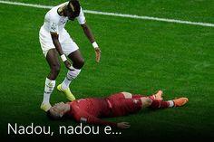 Veja as melhores fotos de Portugal x Gana
