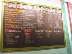 Restaurant Chalkboards ! Describe what you sale