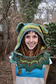 Ravelry: Grateful Dead Dancing Bear Hood pattern by Hannah Martin