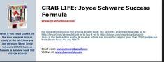 grab life www.visionboardinstitute.com