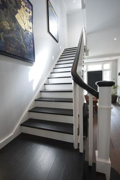 Classic | Traditional | Stair | Timber | Stained | Balusters | Handrail | Feature | Staircase | Treads | Design | Architecture