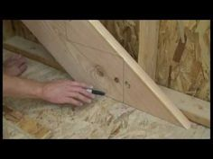 Building Landing and Stairs for a Garage - YouTube