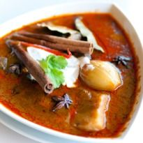 Nihari Gosht  - A traditional Muslim dish of slow cooked meat adorned with the aroma of rose water - submitted by Maryam (Pakistan)