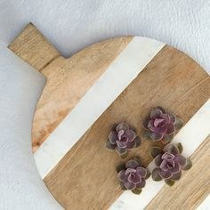 I love a good bread board and I love marble. If you combine the two I am sold! I am swooning over this one from Terrain. To see more of my picks head over to The Oak Tree at www.theoaktreeny.com