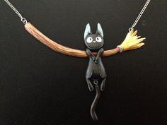 Jiji Necklace by Gatobob on deviantART #GeekGoods