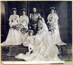 Wedding of Crown Prince Gustav of Sweden to Princess Margaret of Connaught, June 1905 | Royal Collection Trust
