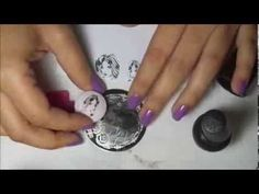 Nail stamping tips, Nail stamping basics Make images smaller using your stamper! I learned more about this technique from Kelly Cris (Esmaltes da Kelly) Yout...
