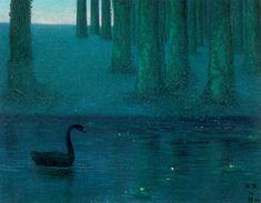 William Degouve de Nuncques, The Black Swan