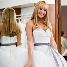 Vera Wang Spring 2005 dream dress worn by Katre Hudson in Bride Wars.