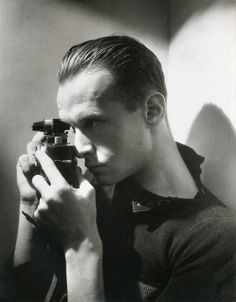 Photographer Henri Cartier-Bresson, 1933