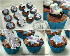 Roller skating party cupcakes #rollerskating #rollerskatingparty #skatingpartyidea #skatingcupcakes #cupcakeidea