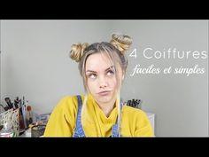 latest En vidéo : 4 COIFFURES FACILES ET SIMPLES | Cheveux longs et mi-longs | Pour lycée et collège